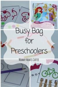 Preschool Busy Bag Pinterest
