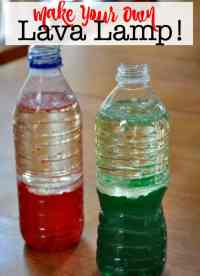 Make Your Own Lava Lamp! - MomOf6