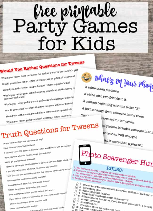 How to Throw Kids Birthday Parties at Home! - MomOf6