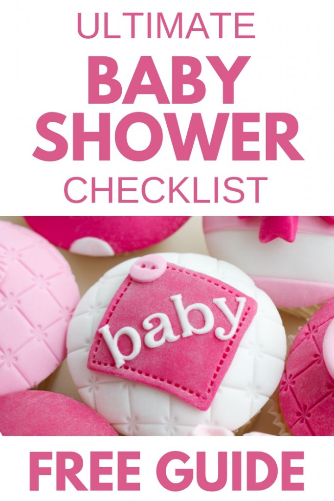 Quick  Easy Baby Shower Checklist - With Timeline  Printable