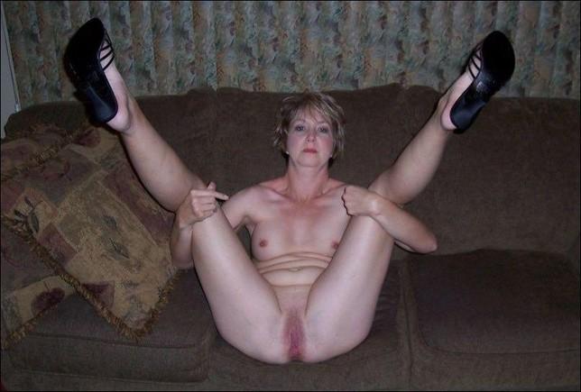 my mom naked at home
