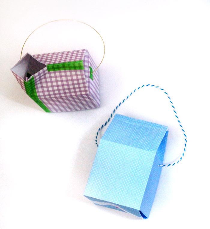 Milk Carton Treat Box (instructions + free template) - Milk Carton Template