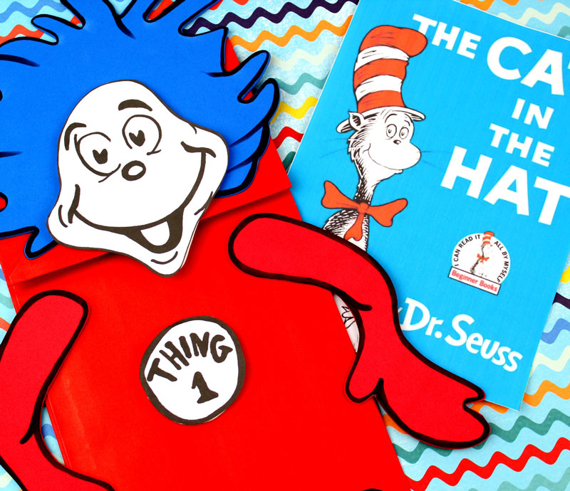 photo regarding Thing 1 and Thing 2 Free Printable Template referred to as Dr Seuss Hat Printable Behavior