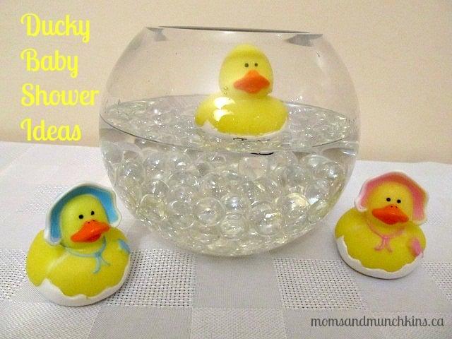Ducky Baby Shower Ideas