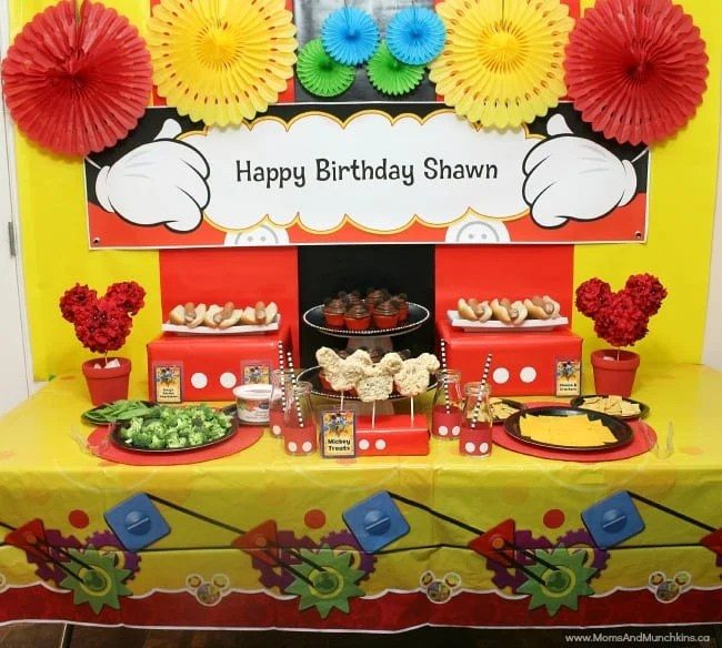 Party Themes for Kids and Teens - Moms  Munchkins - mickey mouse boy birthday party ideas