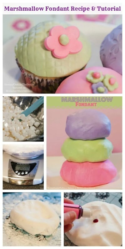 Marshmallow Fondant Recipe & Tutorial - Moms & Munchkins