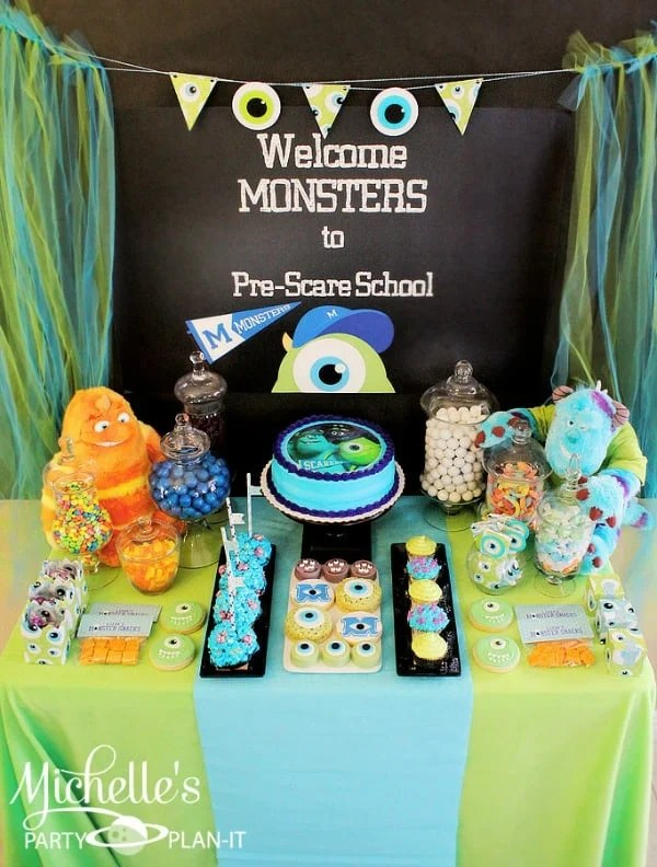 Monsters University Party Ideas (Collection) - Moms  Munchkins