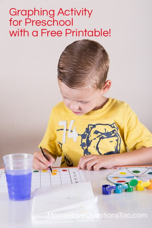 Spin and Graph Game with Free Printable - free printable graph