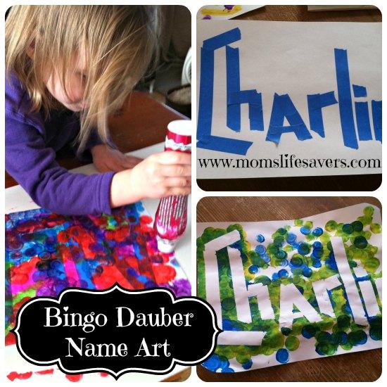 Bingo Dauber Art - DIY - Mom\u0027s Lifesavers