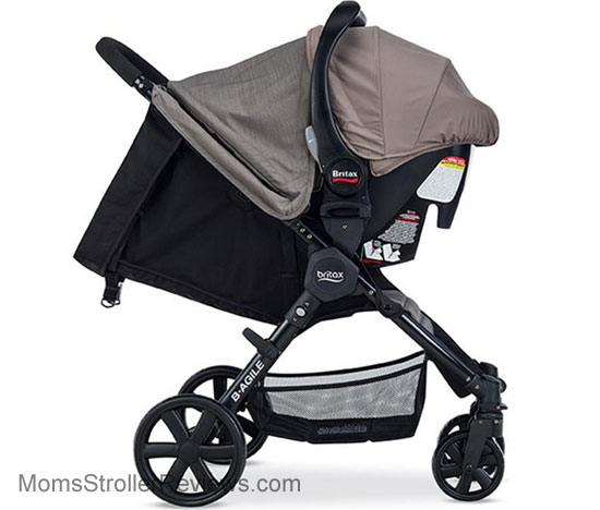britax b agile 4 stroller review mom 39 s stroller reviews. Black Bedroom Furniture Sets. Home Design Ideas