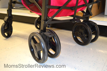 how to open chicco umbrella stroller
