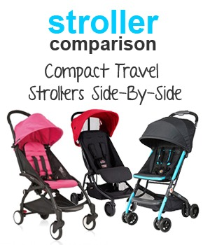 Super Compact Travel Strollers Side-By-Side Comparison | Mom's ...
