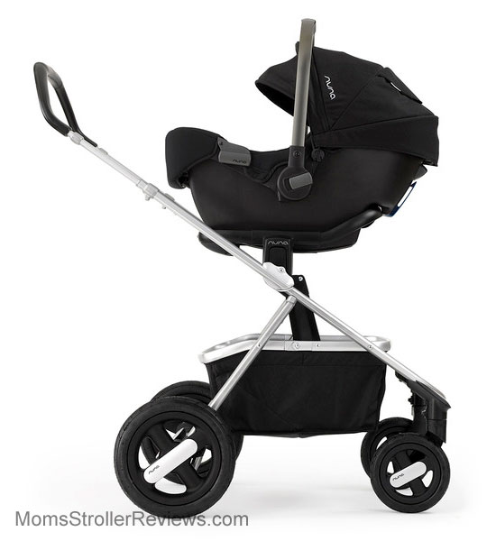 nuna ivvi stroller review mom 39 s stroller reviews. Black Bedroom Furniture Sets. Home Design Ideas
