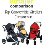 Top Convertible Strollers Side-by-Side Comparison