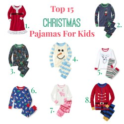 Small Of Kids Christmas Pajamas