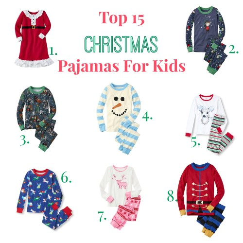 Medium Crop Of Kids Christmas Pajamas