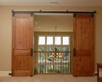 Double Door Style Interior Barn Doors | Monarch Custom Doors