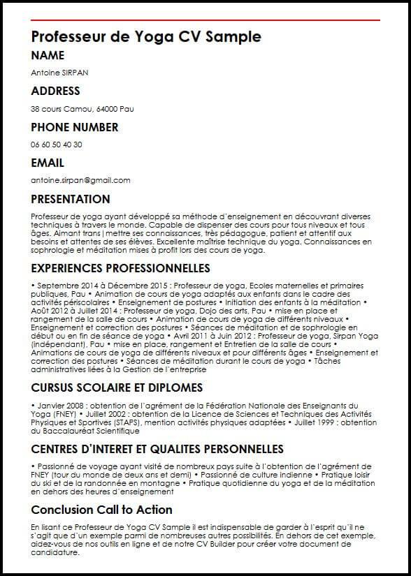 qualite et competences personnelles pour cv