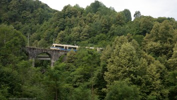 Centovalli Train near Domodossola, Piemonte,  Europe