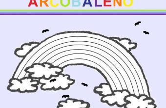 Disegni da colorare for Arcobaleno da colorare per bambini