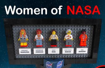 Lego, nuova serie: le donne della NASA