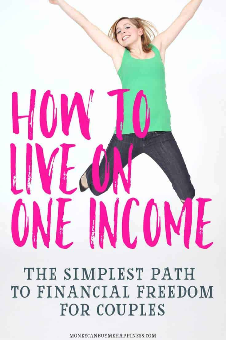 Living on one income before we needed to is the whole reason I can be a stay at home parent and we can still travel.