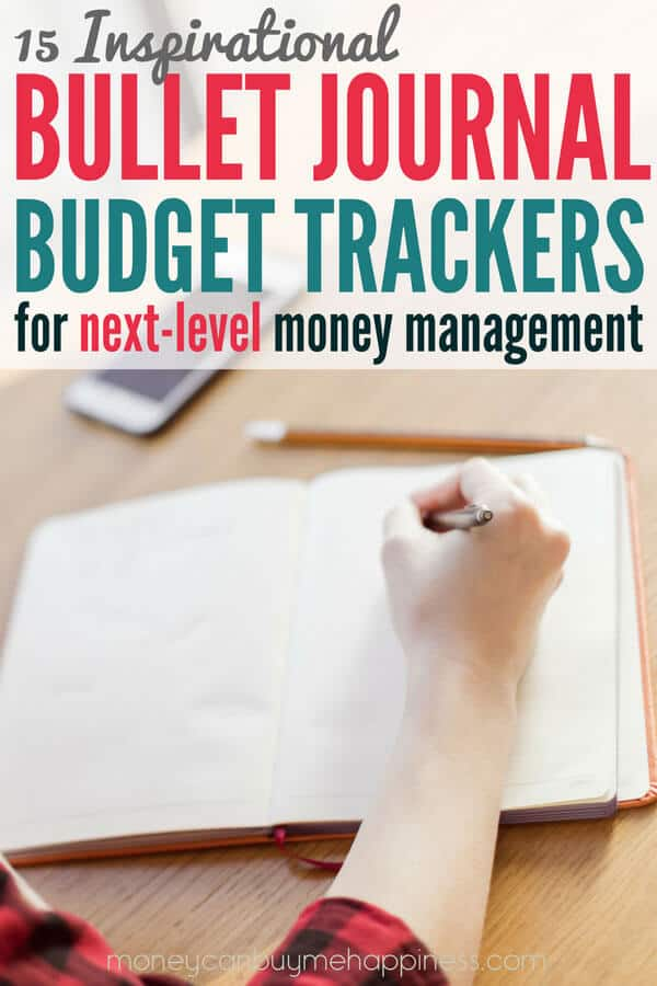 Bullet Journal Budget Trackers 15 Layouts To Inspire