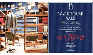 Benjamin Barker Warehouse Sale