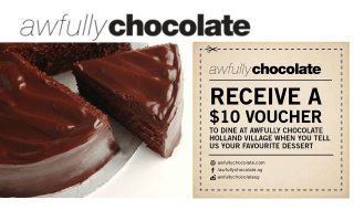 Awfully Chocolate Voucher