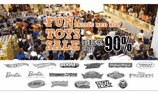 FUNTASTIC RED HOT TOYS SALE