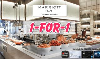 Marriott Cafe 1 for 1