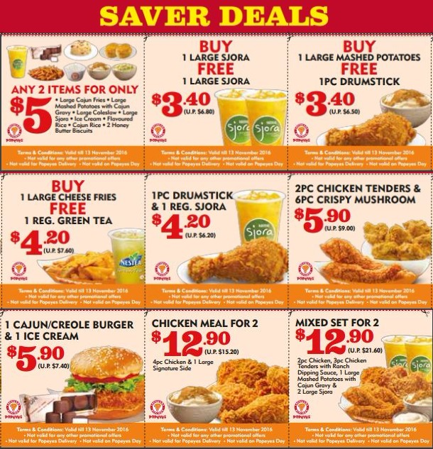 Details: For a limited time, participating Popeyes locations are again offering Best Offers· Credit Cards· Local Listings· Loyalty Program.