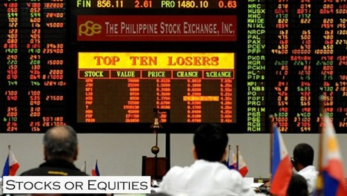 Money Girl Philippines - Philippine Stock Exchange Stocks Equities Asset Classes