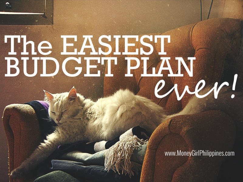 Money Girl Philippines - The Easiest Budget Plan Ever