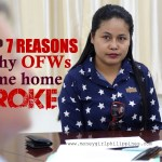 Top 7 Reasons Why OFWs Come Home Broke