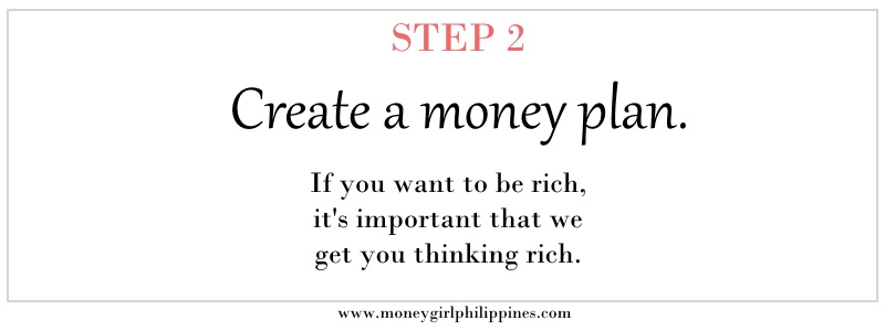 Money Girl Philippines - Step 02 Create a Money Plan