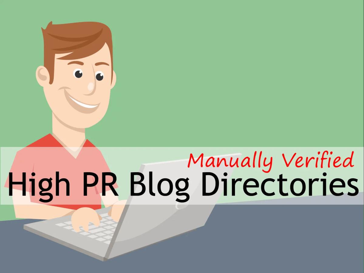 151+ Manually Verified High PR Free Blog Directories Sites List 2015