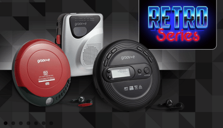 Review : Retro series personal CD & cassette player