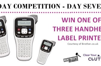 Competition : Win 1 of 3 handheld label printers