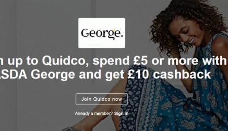 Spend £5 at Asda George and get...