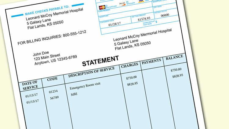 medical bill - Ozilalmanoof - medical invoice