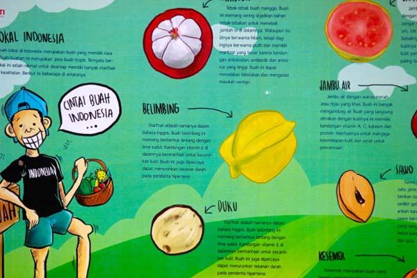 Contoh Penyuluhan Pertanian Kutu Kuliah Poster Yang Mengajak Kita Mencintai Buah Buah Lokal Foto Sapariah