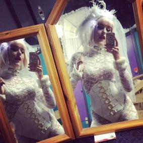 Wedding Reception Enseble, Model: Sophia Hilton