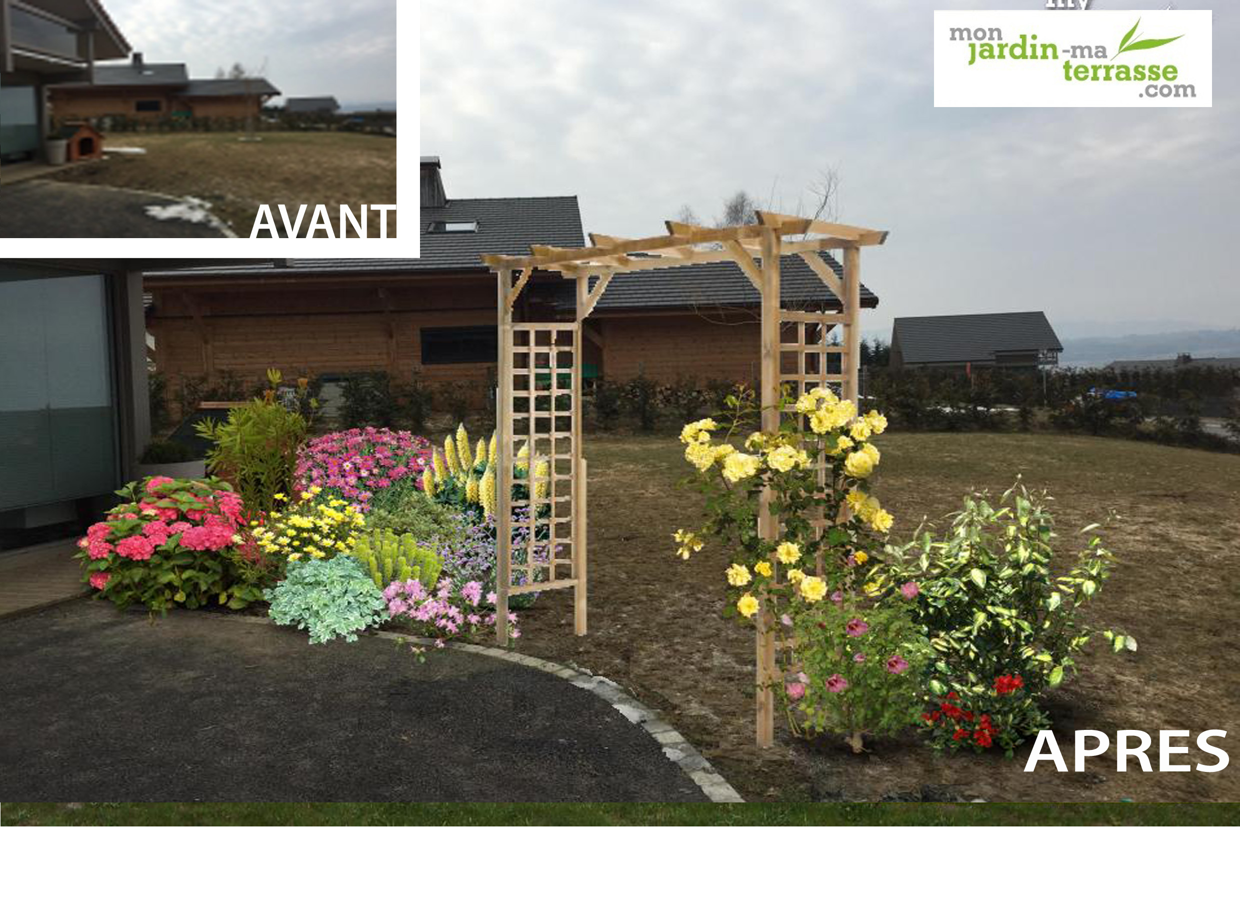 Amenager Son Jardin En Normandie Of Am Nager Son Entr E De Jardin Monjardin