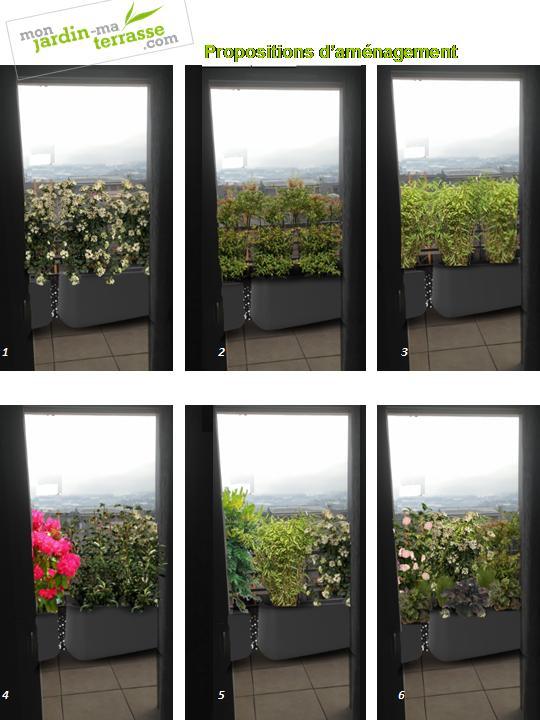 excellent amazing cacher vis a vis balcon with comment cacher vis a vis jardin with comment. Black Bedroom Furniture Sets. Home Design Ideas