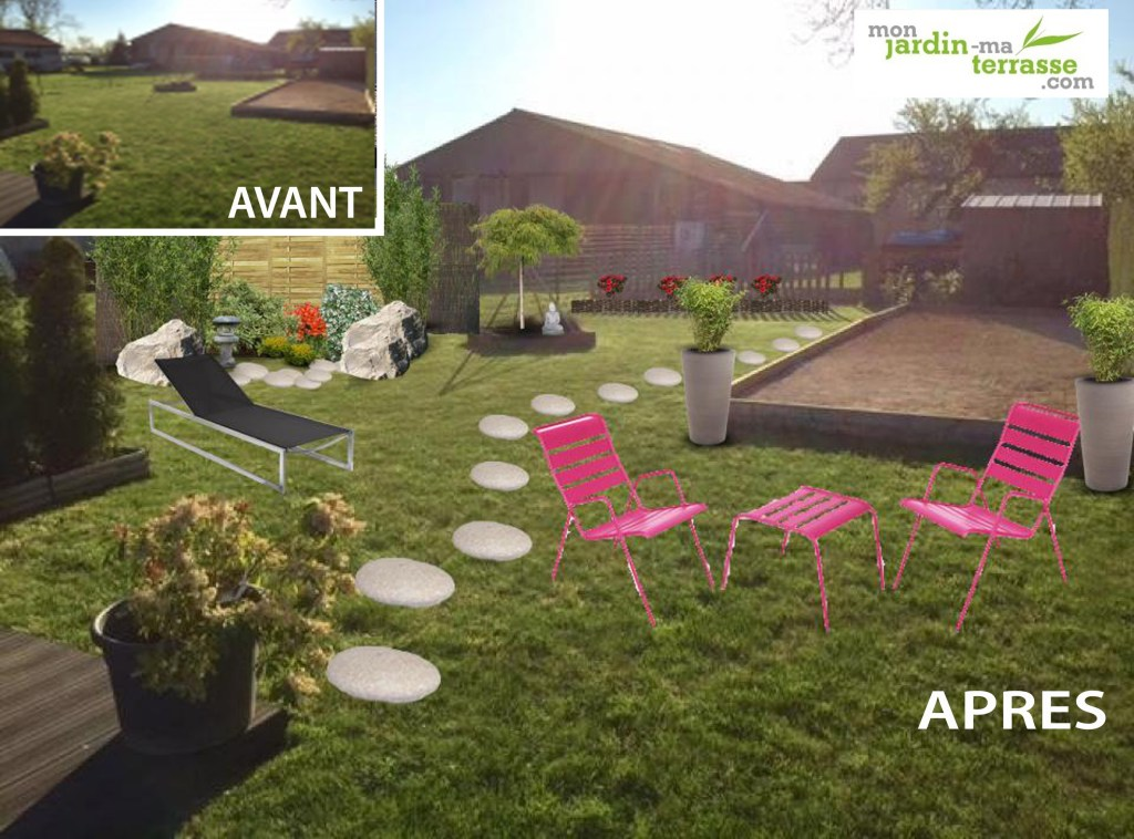 Jardin zen monjardin for Amenager son bassin exterieur