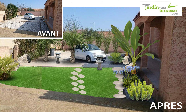 Conception de votre jardin en ligne gratuit monjardin for Simulation jardin en ligne