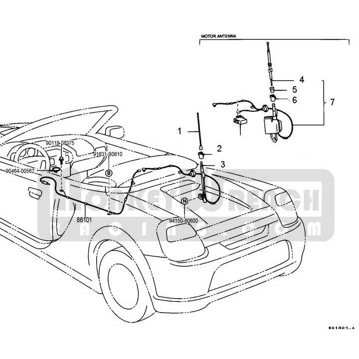 trunk actuator relay diagram