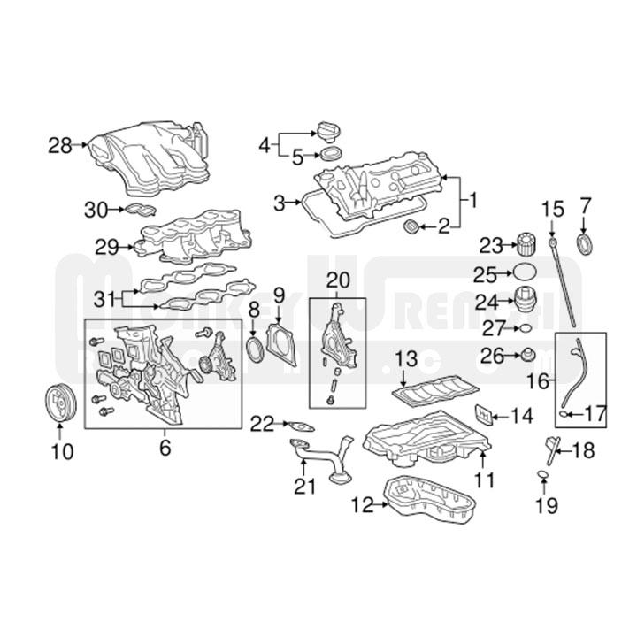 TOYOTA 1GR FE ENGINE DIAGRAM - Auto Electrical Wiring Diagram
