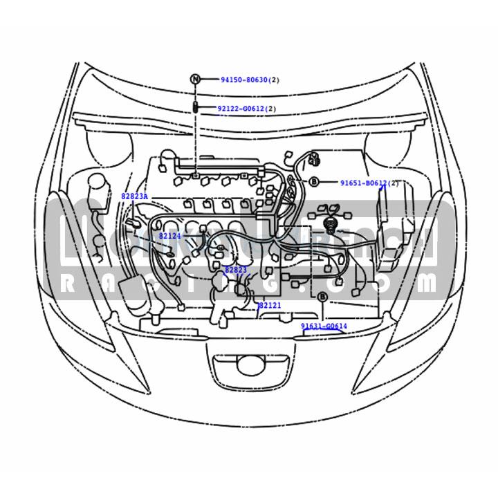 Toyota OEM Wire Harness \u2013 Early Style Knock Sensor Jumper